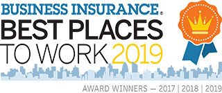Business Insurance - Best Places to Work 2017-19